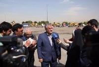 اعزام دومین مرحله تجهیزات به استان خوزستان از سوی شهرداری تهران