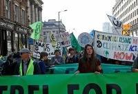 اعتراضات گسترده محیط زیستی در لندن