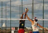 صعود تیم والیبال ساحلی ایران