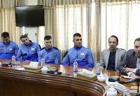 اعضای تیم ملی کاراته با وزیر رفاه و تعاون اجتماعی دیدار کردند