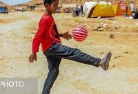 عکس/ کودکان سیل&#۸۲۰۴;زده حمیدیه خوزستان