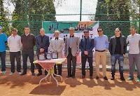 پایان رقابتهای تنیس آزاد تهران با قهرمانی ارسلان قمی