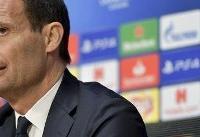 آلگری: یوونتوس مدعی اصلی کسب جامها میشود