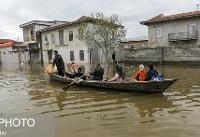 آخرین وضعیت شهرهای سیلزده آققلا و گمیشان