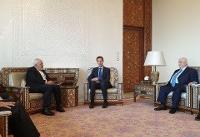 عکس/ دیدار ظریف و بشار اسد در دمشق