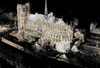 On American hard drives, a precise 3-D model of Notre-Dame