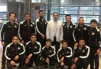 تیم ملی جودو وارد امارات شد