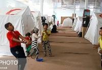 ارائه خدمات ورزشی و رفاهی به سیلزدگان ساکن در اماکن ورزشی و اردوگاهها