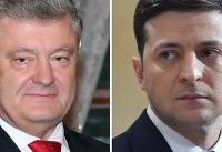 Stadium debate ahead of Ukraine presidential runoff