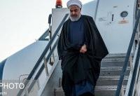 رییسجمهور وارد خوزستان شد
