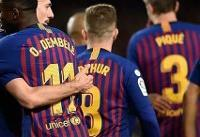 پیروزی سخت بارسلونا در لالیگا