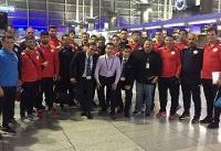 تیم ملی کشتی آزاد به چین رفت