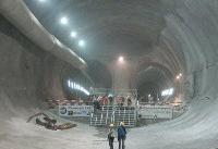 سه شیفته شدن ساخت پروژه احداث تونل - زیرگذر استاد معین