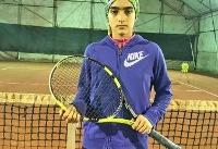 تکرار قهرمانی درسا چراغی در تور تنیس زیر ۱۴ سال آسیا