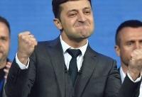 پیروزی زلنسکی در انتخابات ریاستجمهوری اوکراین؛ پوروشنکو شکست را پذیرفت