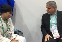 دیدار صالحی امیری با رییس فدراسیون جهانی جودو در امارات