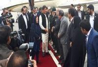 سفر نخست وزیر پاکستان به ایران از مشهد آغاز شد