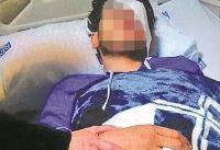 عکس/معلم، عینک را در چشم دانش&#۸۲۰۴;آموز تهرانی خورد کرد