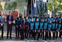 تیم فوتبال دختران ایران عازم ویتنام شد