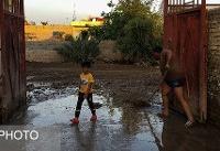 بازگشایی خط ریلی اهواز – خرمشهر/ سیل زدگانی که هنوز زندگیشان خیس است