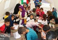 استفاده از اردوگاههای اسکان برای استمرار تحصیل دانشآموزان سیلزده