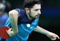 پیروزی نیما عالیمان در تنیس روی میز قهرمانی جهان / نوشاد و شهسواری حذف شدند