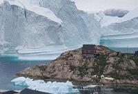 سرعت بالای ذوب شدن تودههای یخ در گرینلند