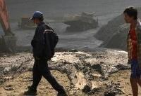 رانش زمین در میانمار ۵۴ معدنچی را مدفون کرد
