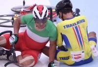 گاف بزرگ دوچرخه سواری ایران در نخستین روز قهرمانی جاده آسیا