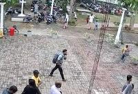 Isil claims Sri Lanka attack as prime minister says there are militants with explosives on the run
