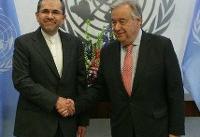 تختروانچی استوارنامه خود را تقدیم دبیر کل سازمان ملل کرد
