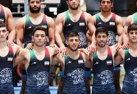 کشتی آزاد ایران قهرمان آسیا شد؛ ۷ طلا و ۳ برنز