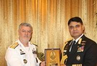 استقبال فرمانده نیروی دریایی ارتش از حضور ناوگروههای بنگلادش در ایران