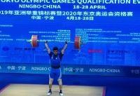 نایب قهرمانی موسوی در وزنه برداری آسیا/ حمله ناموفق تیان تائو به رکورد سهراب مرادی