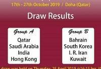 مسابقات هندبال انتخابی المپیک/ همگروهی ایران با بحرین، کره جنوبی و کویت