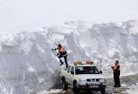 وضعیت برف در بهار امسال