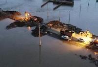اعلام وضعیت اضطراری در آققلا | سد شکست؛ آب در حال پیشروی است
