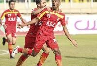 پیروزی فولاد خوزستان مقابل سپیدرود در نیمه نخست