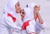 پیروزی پرگل بانوان فوتبالیست ایران در مرحله دوم انتخابی المپیک