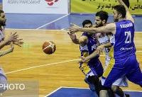 پیروزی سخت پتروشیمی مقابل نفت در نیمهنهایی لیگ بسکتبال