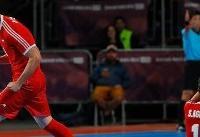 شکست تیم فوتسال ایران در برابر روسیه