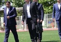 حضور ویلموتس در کمپ تیمهای ملی و جلسه با مهدی تاج