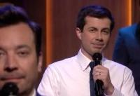 Jimmy Fallon Makes Pete Buttigieg the New Obama With 'Slow Jam the News'
