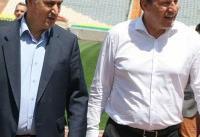 بازدید سرمربی جدید تیم ملی فوتبال از ورزشگاه آزادی