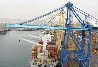 هدایت بخشی از کشتیهای کالاهای اساسی به بنادر شهید رجایی و چابهار