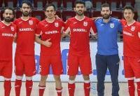 جدال ایرانیها در فینال لیگ فوتسال آذربایجان