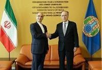 ارائه اعتبارنامه نماینده ایران به مدیرکل سازمان منع سلاحهای شیمیایی OPCW