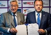 امضا تفاهم نامه بین فدراسیون های جهانی جودو و تکواندو