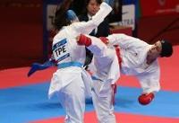 ۲ طلای عباسعلی و خاکسار در لیگ جهانی کاراته ترکیه/ عسگری فینالیست شد