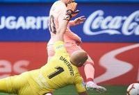 دبل مسی برای پیروزی بارسلونا کافی نبود